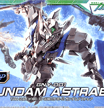 High Grade Gundam Astraea Box