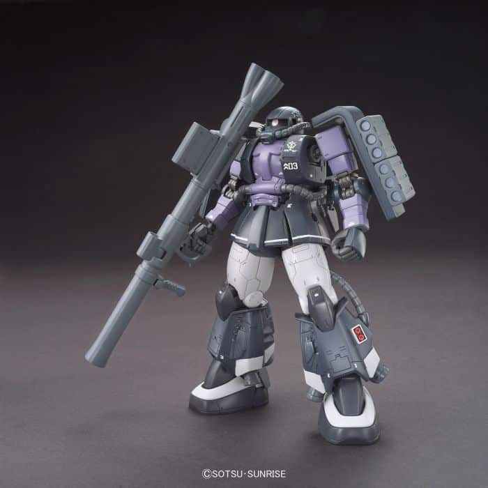 High Grade Zaku II High Mobility Type Gaia/Mash Pose 1