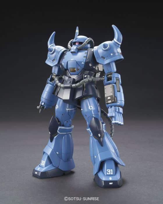 High Grade Prototype Gouf Tactical Demonstrator Pose 1