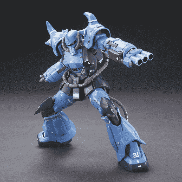 High Grade Prototype Gouf Tactical Demonstrator Pose 3