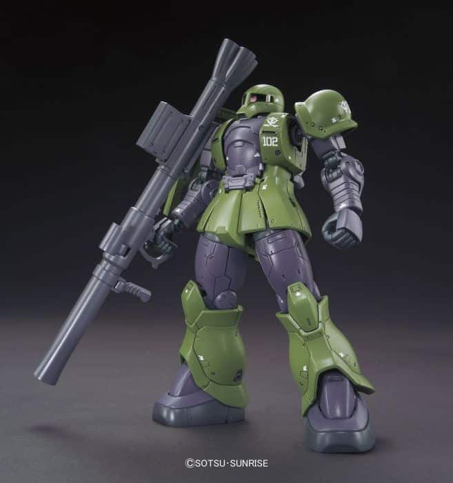 High Grade Zaku I Denim/Slender Pose 1