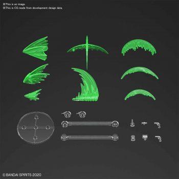 Customize Effect Slash Image Ver Green Pose 1