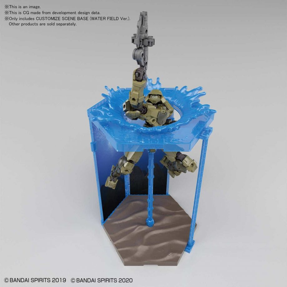 Customize Scene Base Water Field Ver Pose 4