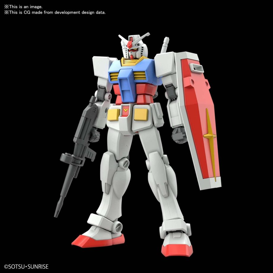 Entry Grade RX-78-2 Pose 1