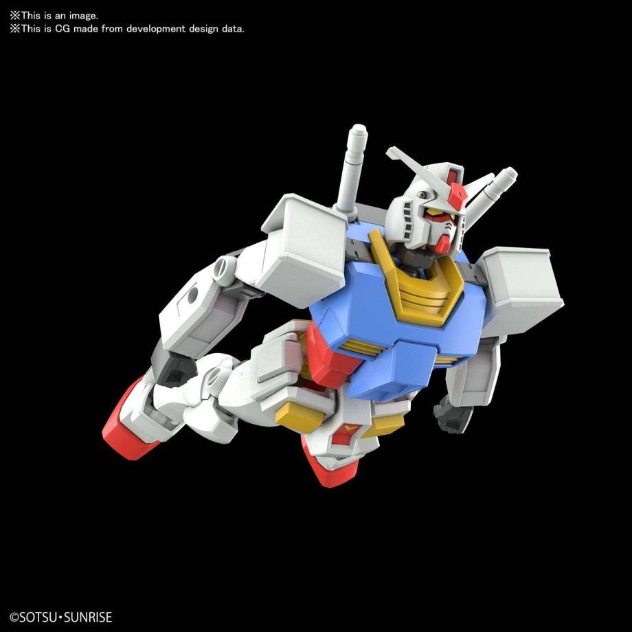 Entry Grade RX-78-2 Pose 3
