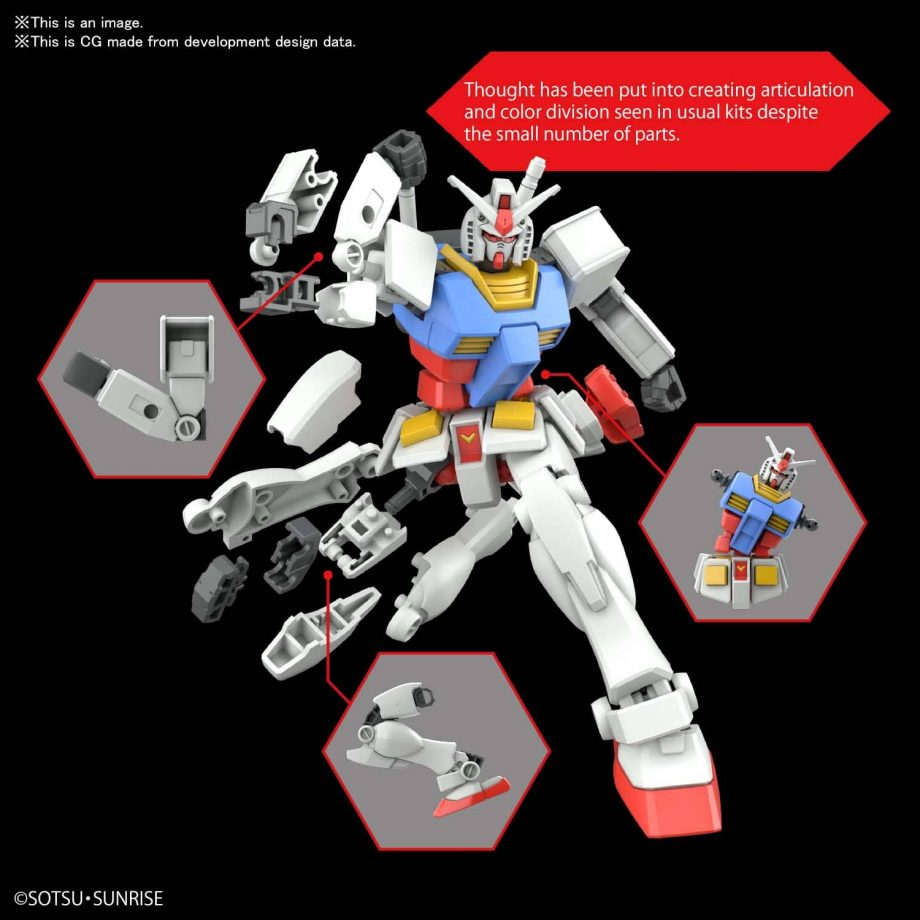 Entry Grade RX-78-2 Pose 5