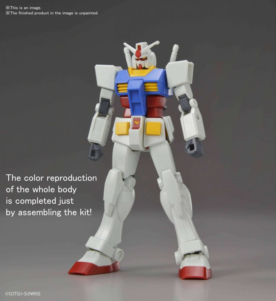 Entry Grade RX-78-2 Pose 11