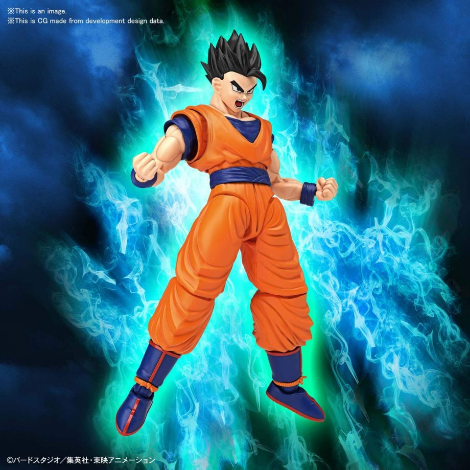 Ultimate Son Gohan Figure Rise Standard Pose 2