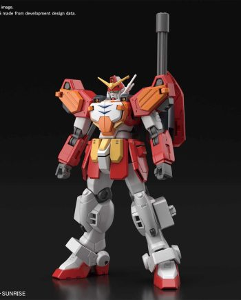 High Grade Gundam Heavyarms Pose 1