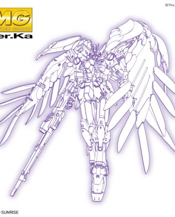 Master Grade Wing Gundam Zero EW Ver Ka Pose 1