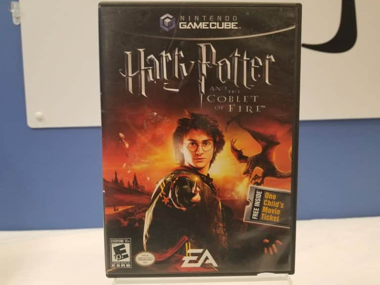 GameCube Harry Potter And The Goblet Of Fire Front