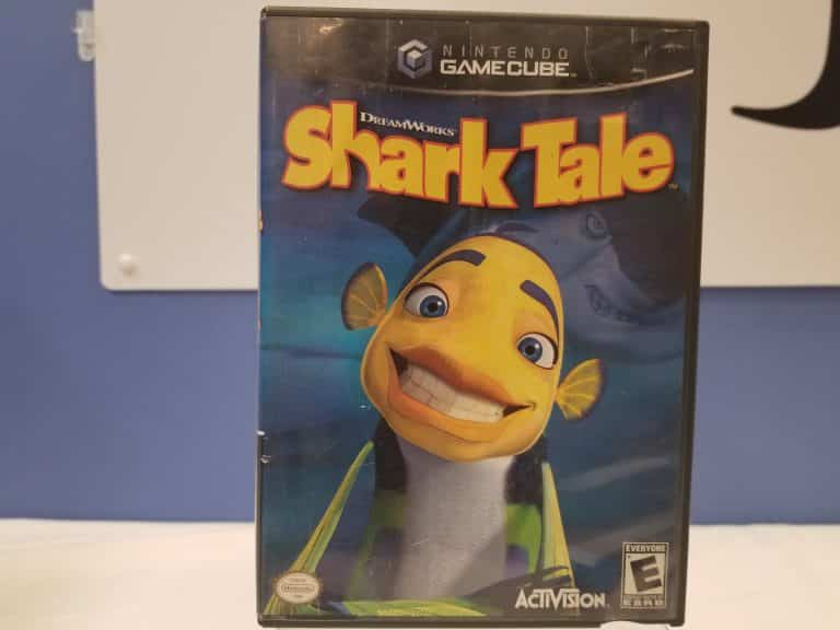 GameCube Shark Tale Front