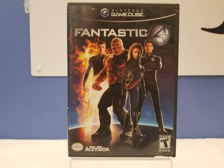 GameCube Fantastic 4 Front