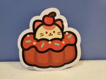 Kitti Cupcake Sticker