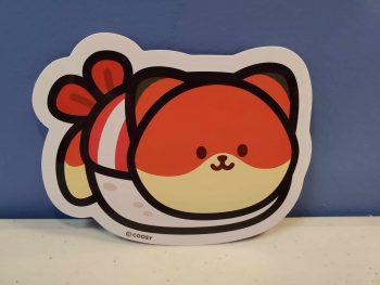 Foxiroll Sticker