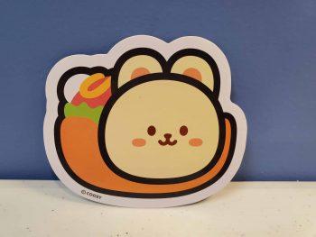 Bunniroll Sticker