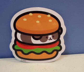 Hamburger Pandaroll