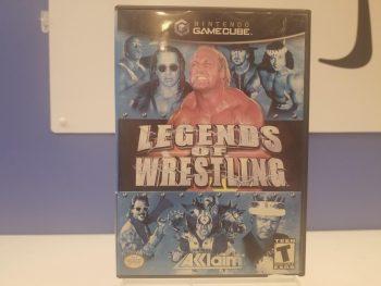 GameCube Legends of Wrestling Front