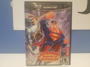 GameCube Superman Shadow Of Apokolips Front