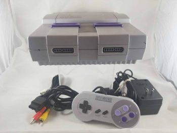 Super Nintendo System Pose 1