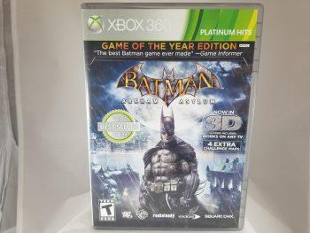 XBox 360 Batman Arkham Asylum Front