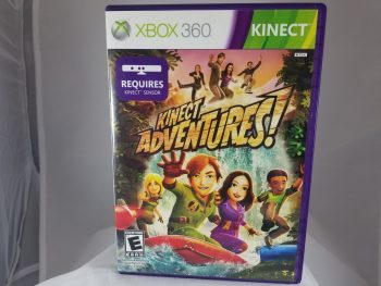 XBox 360 Kinect Adventures Front
