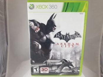 Xbox 360 Batman Arkham City Front