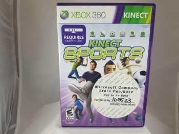 XBox 360 Kinect Sports Front