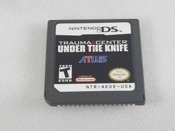 Nintendo DS Trauma Center Under The Knife
