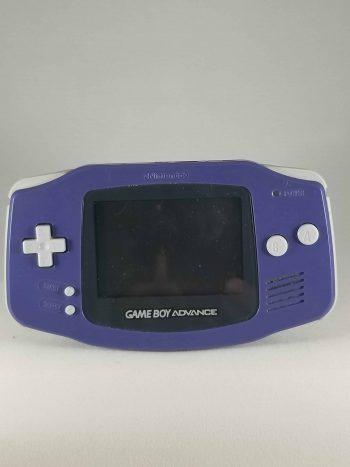 Game Boy Advance System Purple Front