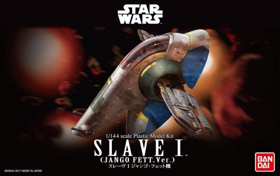 1/144 Slave I Model Kit Jango Fett Ver Box