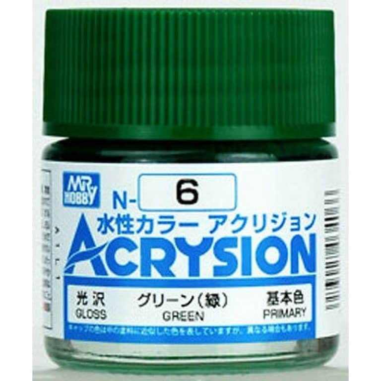 Mr. Color Acrysion Gloss Green N6