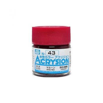 Mr. Color Acrysion Gloss Wine Red N43