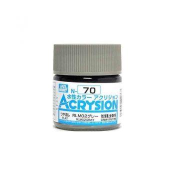 Mr. Color Acrysion Semi Gloss RLM02 Gray N70