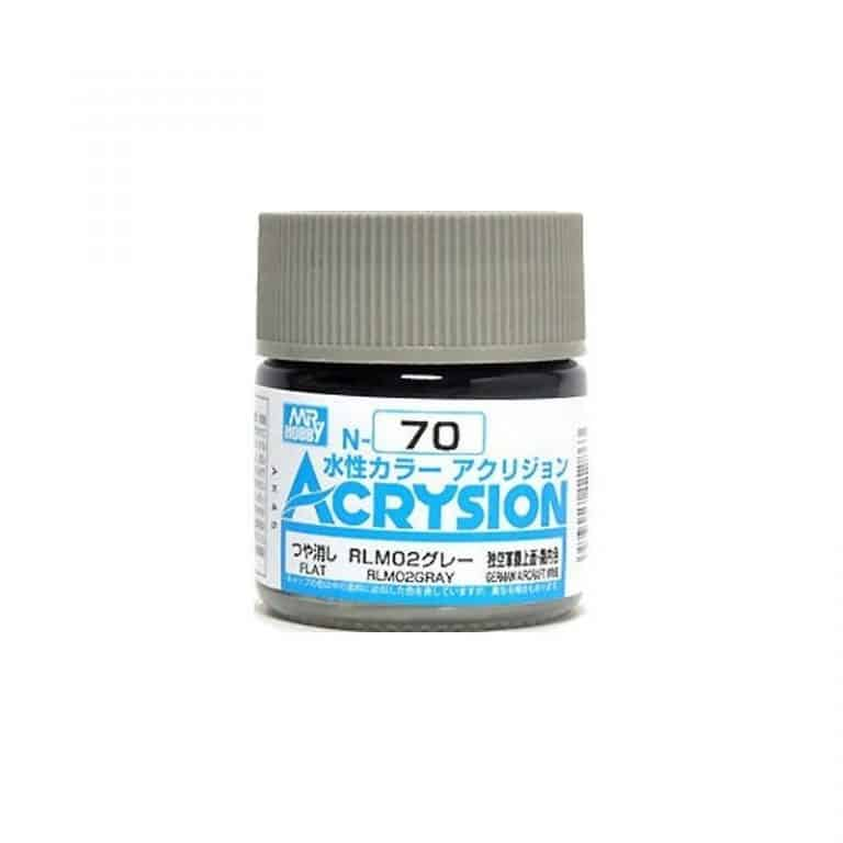 Mr. Color Acrysion Semi Gloss RLM02 Gray N70