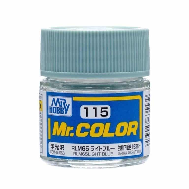 Mr. Color Semi Gloss RLM65 Light Blue C115