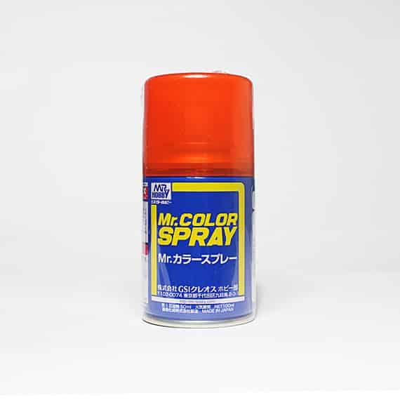 Mr. Color Spray Gloss Clear Orange S49
