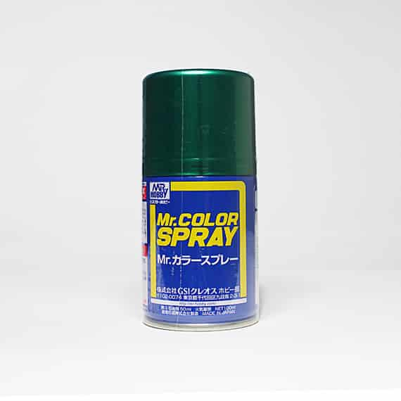 Mr. Color Spray Metallic Green S77