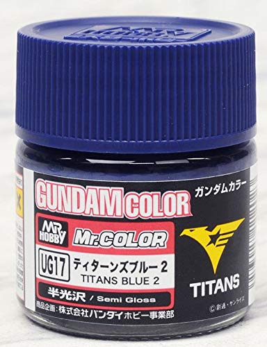 Mr. Color Gundam G Color Semi Gloss MS Titans Blue 2 UG17