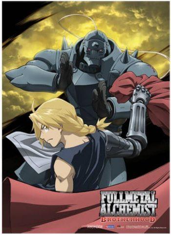 Full Metal Alchemist Brotherhood Moon Wall Scroll