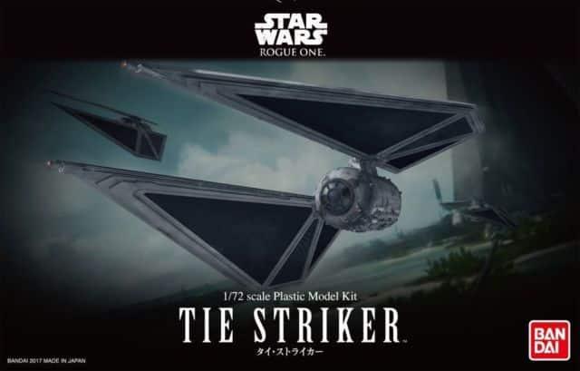 Star Wars 1/72 Tie Striker Box