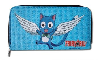 Fairy Tail Happy Zip Wallet