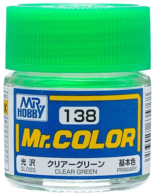 Mr. Color Gloss Clear Green C138