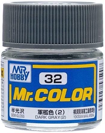 Mr. Color Semi Gloss Dark Gray 2 C32