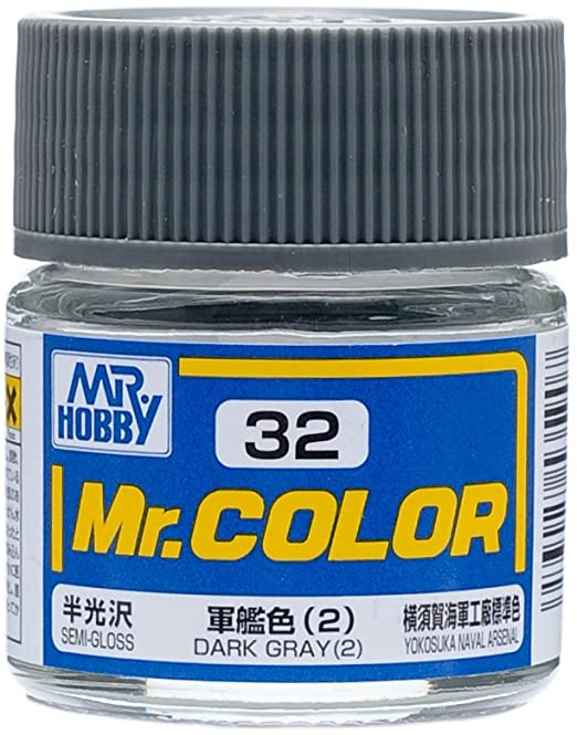 Mr. Color Semi Gloss Dark Gray 2 C32
