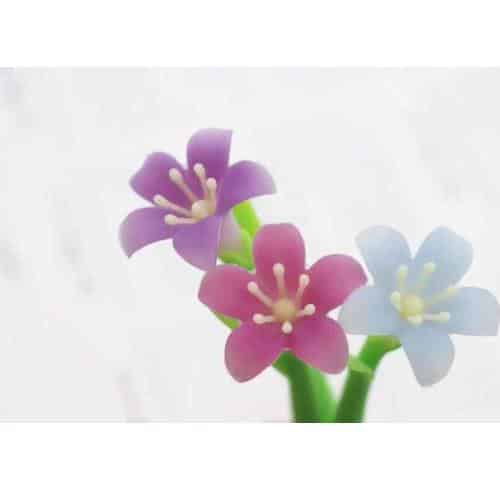 SILICONE COLOR CHANGING LILY 0.5MM GEL PEN