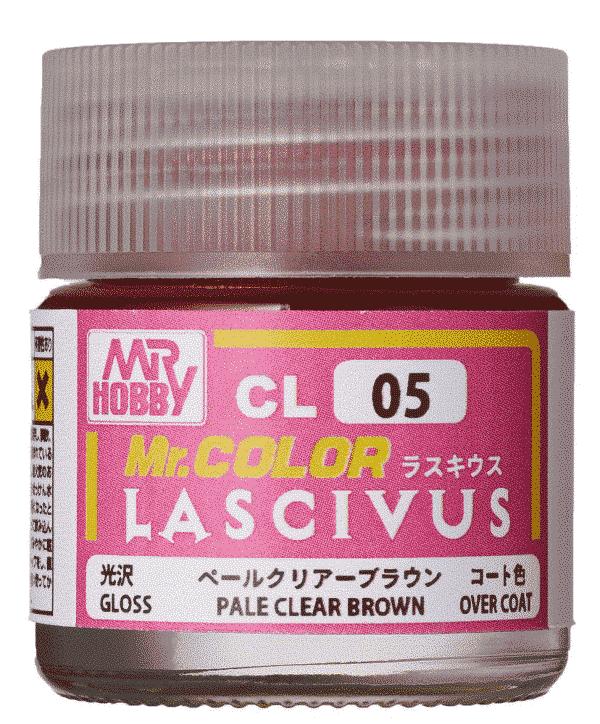 Mr. Color Lascivus Gloss Pale Clear Brown CL05