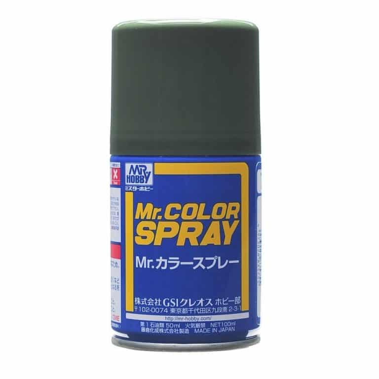 Mr. Color Spray 3/4 Flat Dark Green S70