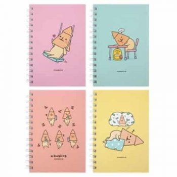 O-ZINGZING B6 HARDCOVER NOTEBOOK