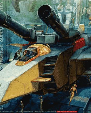 Master Grade Gundam G-Armor G-Fighter